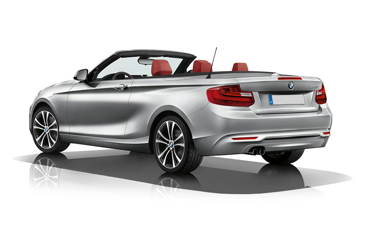 BMW 2 Series 218 Convertible 2.0 d 150PS Sport 2Dr Manual [Start Stop] [Tech II] back view