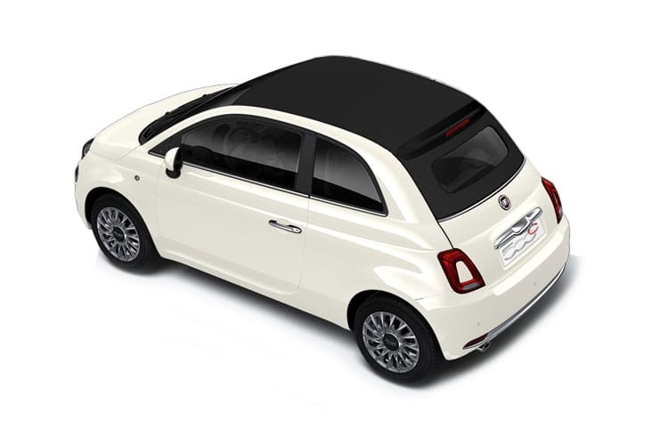 Fiat 500 C Convertible 1.0 MHEV 70PS Pop 2Dr Manual [Start Stop] back view
