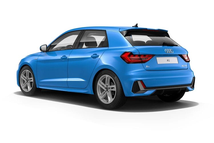Audi A1 25 Sportback 5Dr 1.0 TFSI 95PS Black Edition 5Dr S Tronic [Start Stop] [Technology] back view