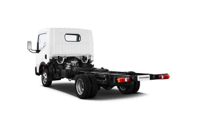 Nissan NT400 Cabstar 35.13 MWB 3.0 dCi DRW 130PS  Tipper Manual back view