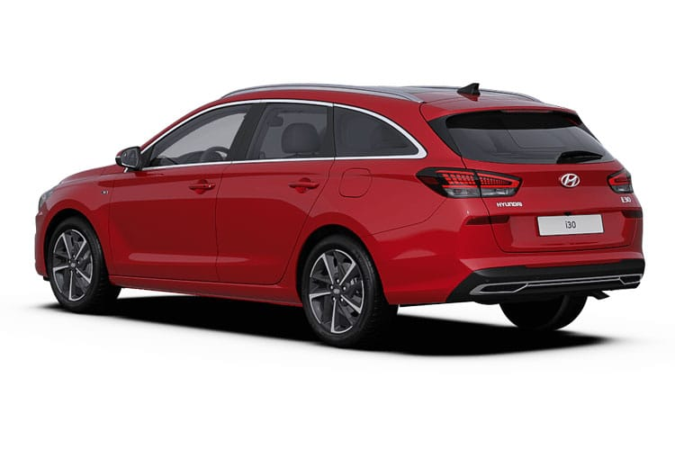 Hyundai i30 Tourer 1.0 T-GDi MHEV 120PS Premium 5Dr DCT [Start Stop] back view
