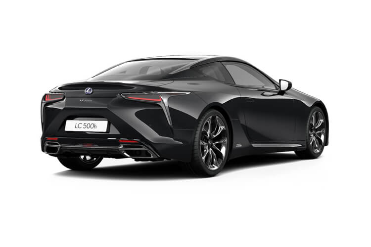 Lexus LC 500 Coupe 3.5 h V6 359PS  2Dr E-CVT [Start Stop] back view