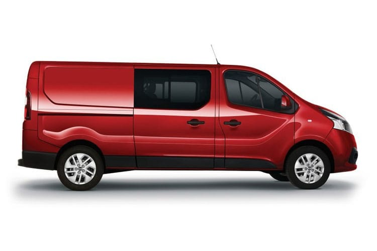 Nissan NV300 L1 30 2.0 dCi FWD 120PS Tekna Crew Van Manual back view