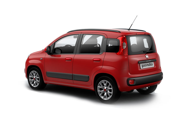 Fiat Panda Hatch 5Dr 1.0 MHEV 70PS Launch Edition 5Dr Manual [Start Stop] back view