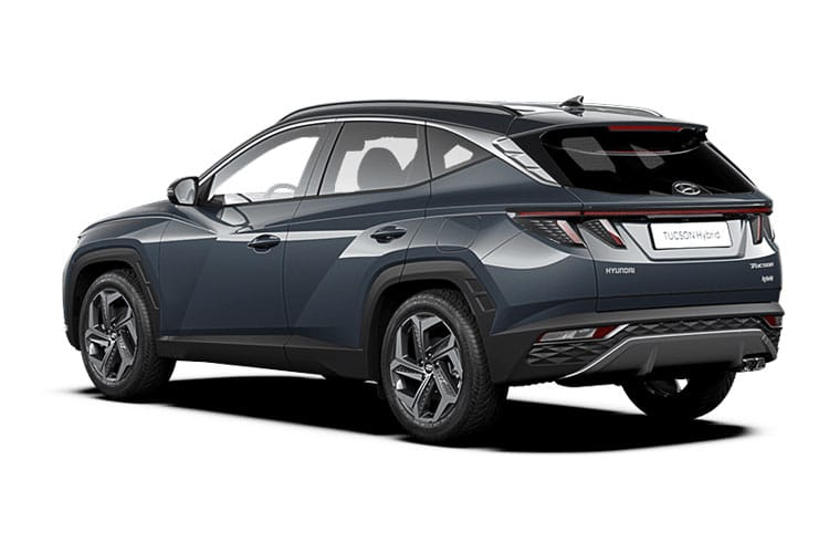 Hyundai Tucson SUV 1.6 T-GDi MHEV 150PS Premium 5Dr Manual [Start Stop] back view