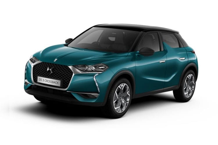 DS Automobiles DS 3 Crossback 5Dr 1.2 PureTech 130PS Ultra Prestige 5Dr EAT8 [Start Stop] front view