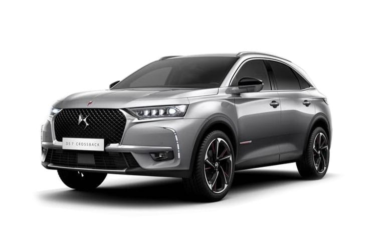 DS Automobiles DS 7 Crossback SUV 5Dr 4x4 1.6 E-TENSE PHEV 13.2kWh 300PS Performance Line + 5Dr EAT8 [Start Stop] front view