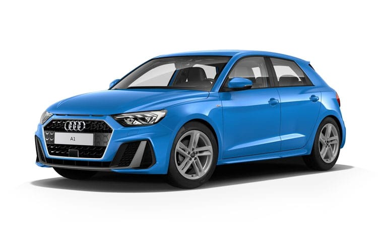 Audi A1 25 Sportback 5Dr 1.0 TFSI 95PS Black Edition 5Dr S Tronic [Start Stop] [Technology] front view