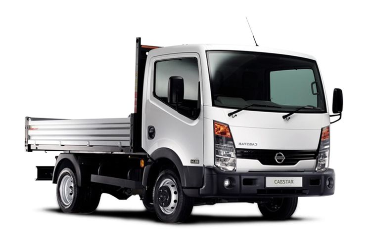 Nissan NT400 Cabstar 35.13 MWB 3.0 dCi DRW 130PS  Tipper Manual front view