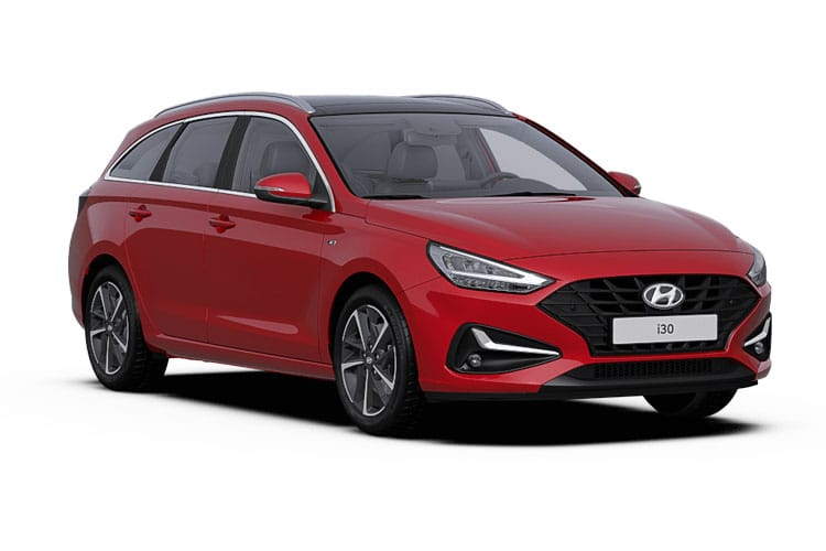 Hyundai i30 Tourer 1.0 T-GDi MHEV 120PS Premium 5Dr DCT [Start Stop] front view