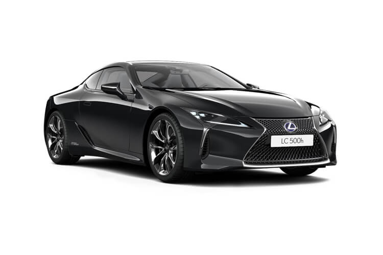 Lexus LC 500 Coupe 3.5 h V6 359PS  2Dr E-CVT [Start Stop] front view
