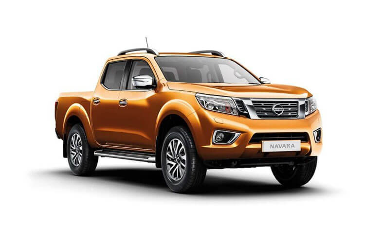 Nissan Navara PickUp DoubleCab 4wdS 2.3 dCi 4WS 190PS Tekna Pickup Double Cab Manual [Start Stop] front view
