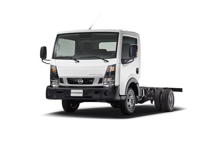 Nissan NT400 Cabstar 35.15 LWB 3.0 dCi DRW 150PS  Chassis Double Cab Manual front view