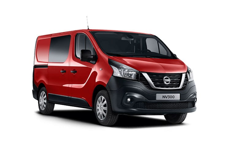 Nissan NV300 L1 30 2.0 dCi FWD 120PS Tekna Crew Van Manual front view