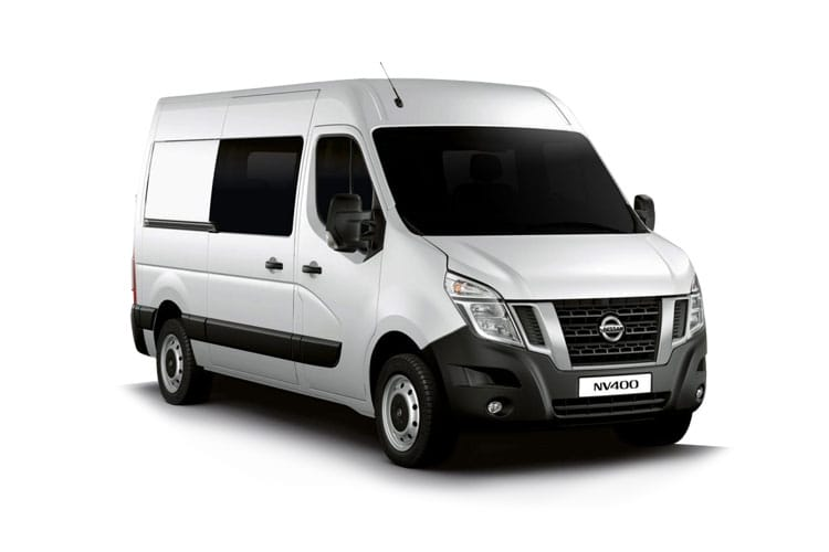 Nissan NV400 L3 35 FWD 2.3 dCi FWD 145PS SE Crew Van Medium Roof Manual [Start Stop] front view