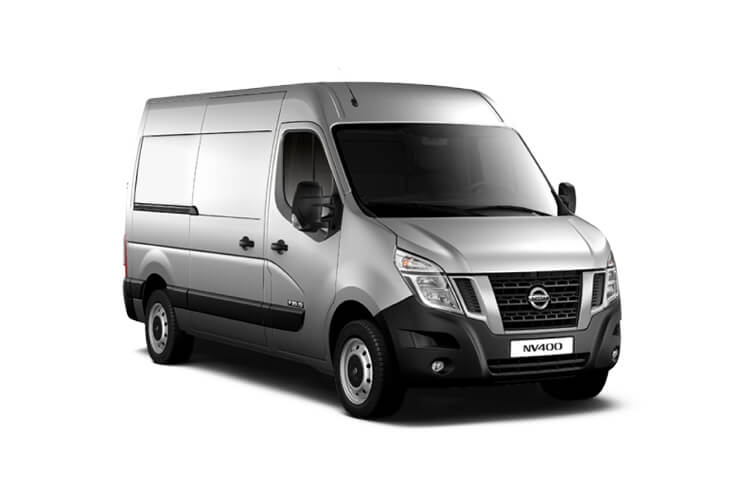 Nissan NV400 L3 35 RWD 2.3 dCi RWD 165PS Acenta Van Medium Roof Manual [Start Stop] front view