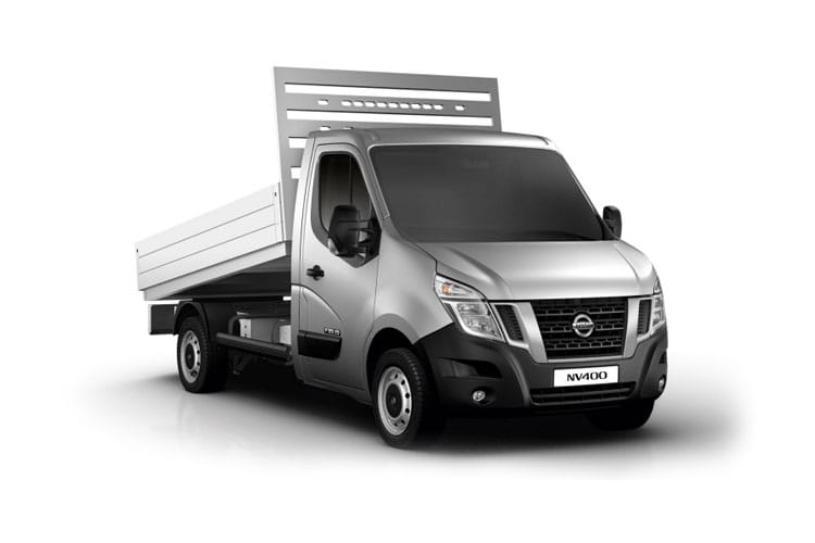 Nissan NV400 L2 35 FWD 2.3 dCi FWD 135PS Tekna Tipper Manual front view