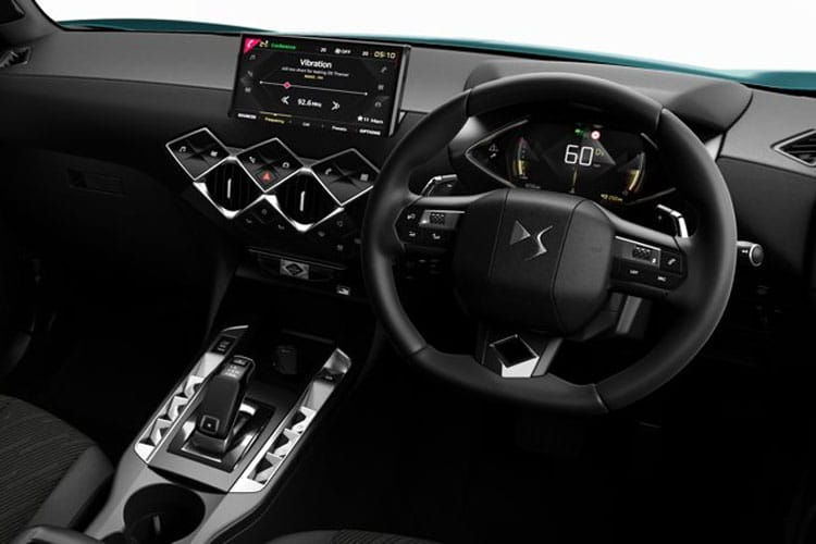 DS Automobiles DS 3 Crossback 5Dr 1.2 PureTech 130PS Ultra Prestige 5Dr EAT8 [Start Stop] inside view