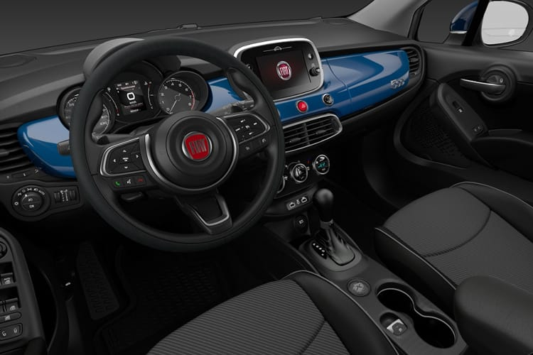 Fiat 500X SUV 1.3 FireFly Turbo 150PS Sport 5Dr DCT [Start Stop] inside view