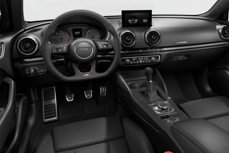 Audi A3 30 Saloon 4Dr 1.0 TFSI 110PS S line 4Dr S Tronic [Start Stop] inside view