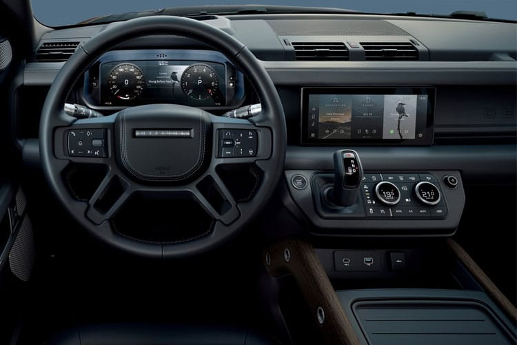 Land Rover Defender 110 SUV 5Dr 3.0 D MHEV 200PS  5Dr Auto [Start Stop] [5Seat] inside view