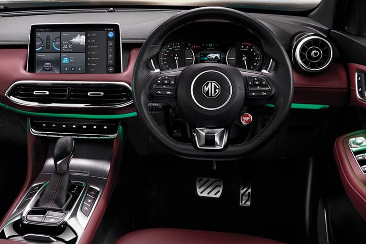MG Motor UK MG HS SUV 1.5 T-GDI 162PS Exclusive 5Dr DCT [Start Stop] inside view
