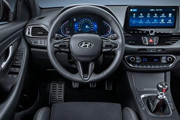 Hyundai i30 Tourer 1.0 T-GDi MHEV 120PS Premium 5Dr DCT [Start Stop] inside view
