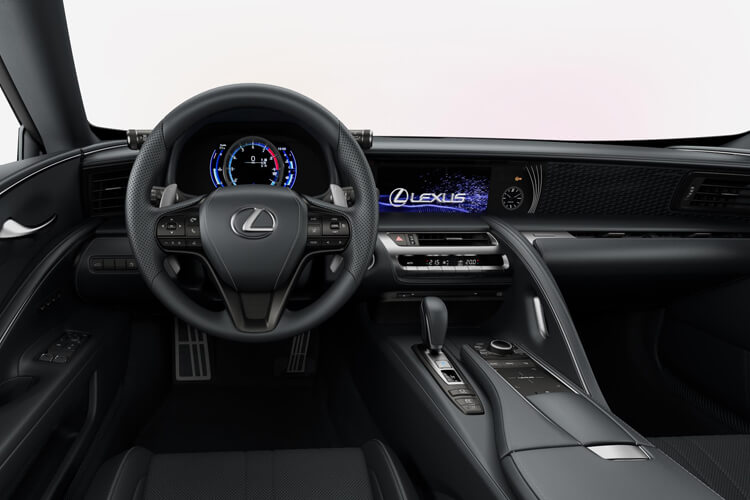 Lexus LC 500 Coupe 3.5 h V6 359PS  2Dr E-CVT [Start Stop] inside view