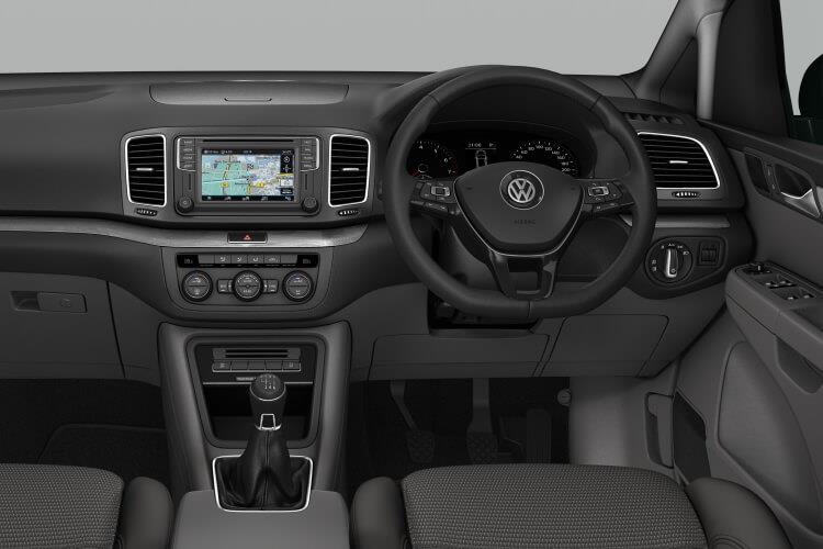 Volkswagen Sharan MPV 2.0 TDI 150PS SEL 5Dr DSG [Start Stop] inside view