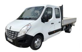 Renault Master Dropside Double Cab LWBL 35TW RWD 2.3 dCi ENERGY DRW 145PS Business Dropside Double Cab Manual [Start Stop]