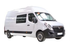 Vauxhall Movano Crew Van F35 L3 2.3 CDTi BiTurbo FWD 135PS Edition Crew Van Medium Roof Manual