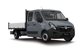 Vauxhall Movano Dropside Double Cab R35 L2 2.3 CDTi BiTurbo RWD 130PS  Dropside Double Cab Manual