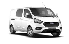 Ford Transit Custom Crew Van 300 L2 2.0 EcoBlue FWD 130PS Leader Crew Van Manual [Start Stop] [DCiV]
