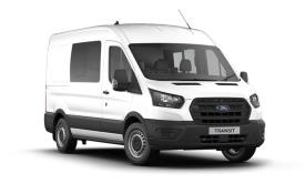 Ford Transit Crew Van 350 L3 2.0 EcoBlue FWD 130PS Limited Crew Van Medium Roof Auto [Start Stop] [DCiV]